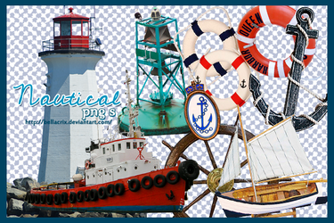 Nautical PNG's by Bellacrix