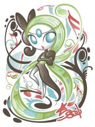 Meloetta Aria by Star-Soul