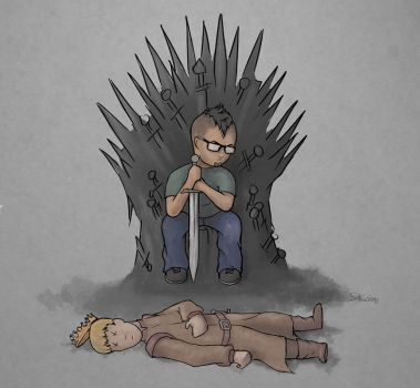 Iron Throne is MINE!!! by shan3990