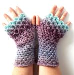 Frosted Lilac Custom Dragon gloves