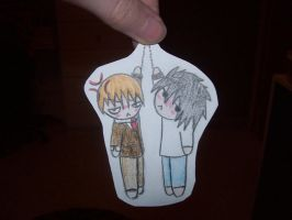 Paperchild Light and L by EternalSasori