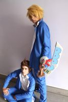 Yu Gi Oh - Joey And Tristan cosplay by JhonkunAGM
