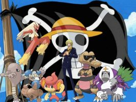 Sanji's Pokemon by magmon47
