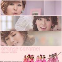 Orange Caramel3 by geegeemagic