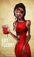 Got flesh? by Drunkfu
