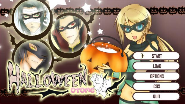 Halloween otome DEMO + Full Version by chocobikies