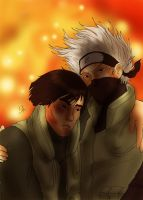 Request - Kakashi and Gai by PetiteLilen