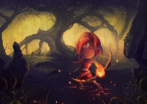 Pans Journey by rodg-art