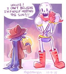 papyrus meets the sun by NightMargin