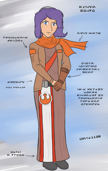 Alternate Outfit Holdo by unit1138