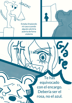 Princesa y raton gigante comic 1 pag1 by choumuthecat-again