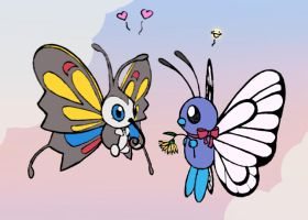 Butterfree Heart Beautifly