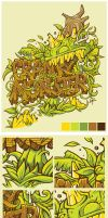 Cranky Monster by bogielicious