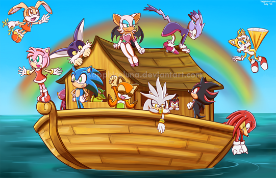 The ARK by sapphireluna