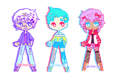 Pastel Boy Adopts [CLOSED] by hello-planet-chan