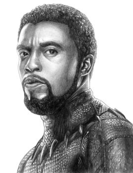Black Panther (T'Challa) - Avengers (Infinity War) by SoulStryder210
