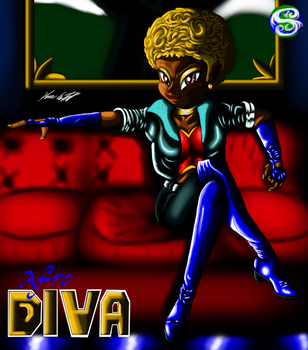 Afro Diva by MrSman5