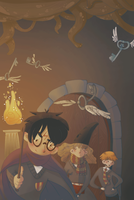 Harry Potter cover book by SilviaVanni