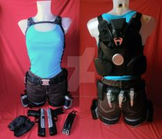 Lara Croft:ToO costume by LadyCerbero