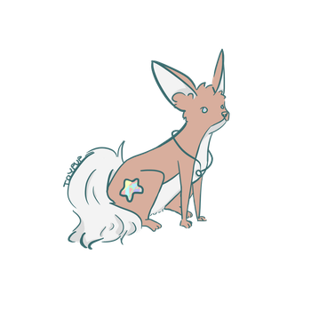 factual mythical fox: adoptable ~{Sold}~ by toypup
