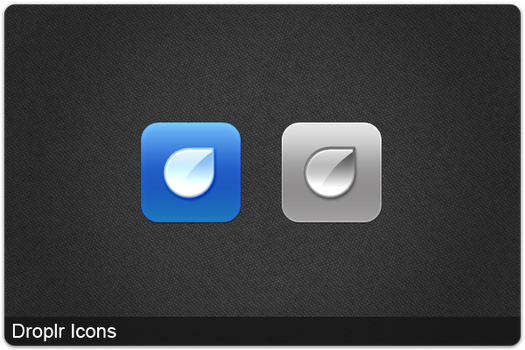 Droplr Icons by FG-Paradiize