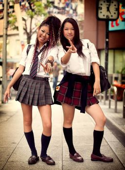 Japanese Street Fashion 5 by hakanphotography