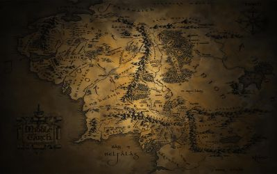Middle Earth Wallpaper by JohnnySlowhand
