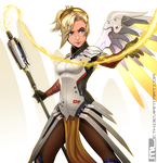 Overwatch - Mercy by MLeth