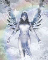 Silver Angel by Aral3D