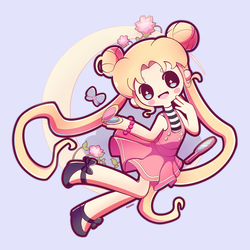 Sailor Moon by Pokkiu
