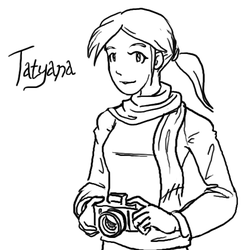 Tatyana Sketch by CarrionTrooper