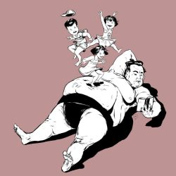 The biggest daddy in the world by Mitt-Roshin