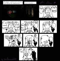 Let's Play Slender! with Slender? by zer0anonymous
