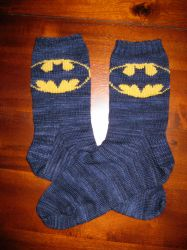 Batman socks by BRuppert
