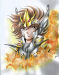 Seiya ( old drawing ) by Fhilippe124