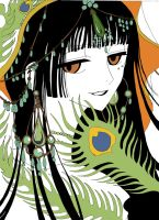 Yuuko the time-space witch by CLAMP-xxxholic