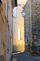 Gold in the alley (Little golden street) by rollarius55