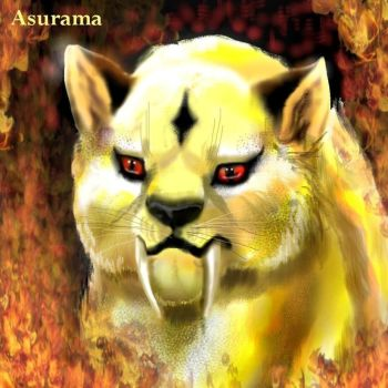 Kirara's fire by Asurama