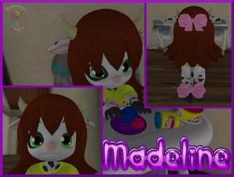 Madeline in Second life (CM) by tailslover42