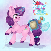 Sugar Belle by Silent-Shadow-Wolf