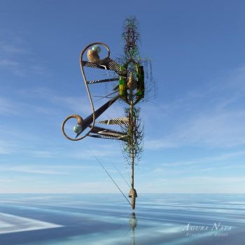 surreal floater / male by Agura-Nata