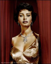 Sophia Loren in Color by xgnyc