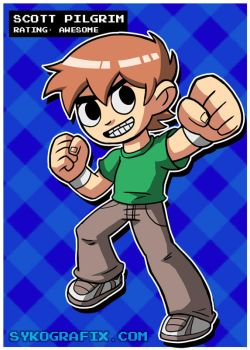 Scott Pilgrim by ninjatron