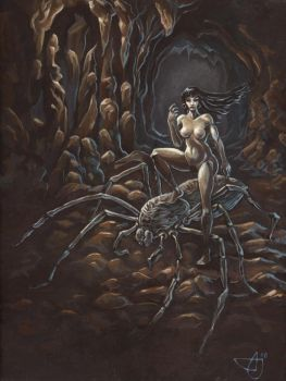 Spider Girl by Morhin