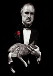 Don Corleone The Godfather by Manguinha