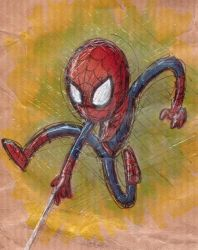 Spiderman by CharlotteMosey
