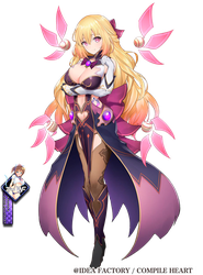 Vert chaos Nepnep Connect Chaos Chanpuru render by Tomoe-Waterfox