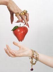 would you like a lovely apple by matchstickgirl