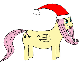 How to draw Christmas Fluttershy Really Good by juju2143