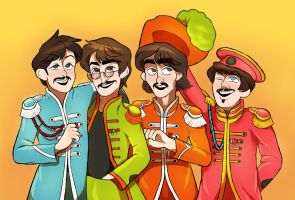 :commission: sgt peppers lonely farts club band by nowand4ever